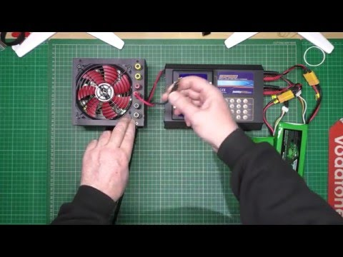 PC power supply  - How to convert to power a lipo charger