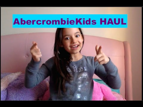 Abercrombie Kids Haul Spring/Summer Sale 2015