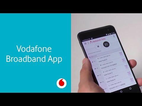Introducing the Vodafone Broadband app