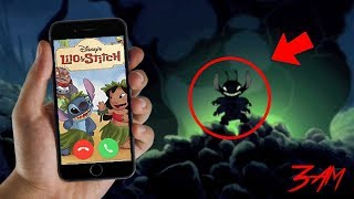 FACETIMING STITCH FROM LILO AND STITCH AT 3 AM!! SUPER SCARY HE