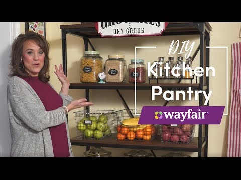 DIY Kitchen Pantry with Traci Hutcherson