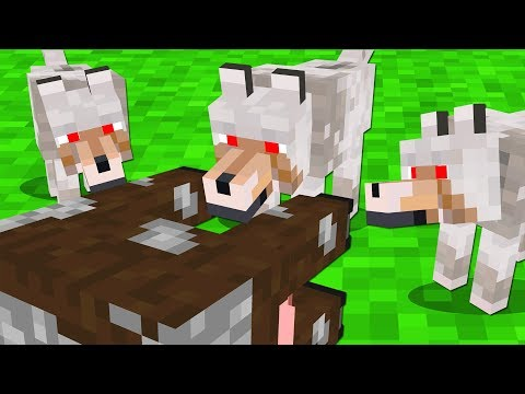 MINECRAFT AS A WOLF