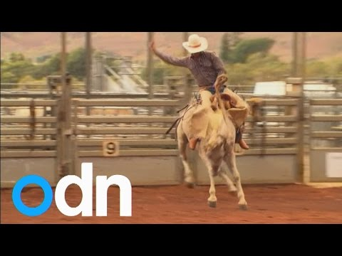 Rodeo school: How to ride a bucking bronco