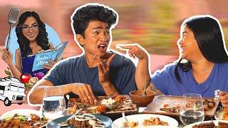 Filipino Food *GALORE* Mukbang - Moms Foodtruck is here