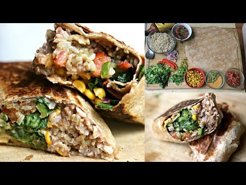 Better Than Chipotle Burrito -  Badass Vegan Kitchen