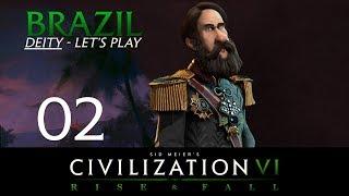 Deity Brazil   Civilization 6 Let's Play   Episode 1 [Random