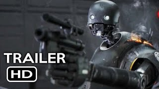 Rogue One: A Star Wars Story Blu-Ray Trailer (2016) Felicity Jones Movie HD