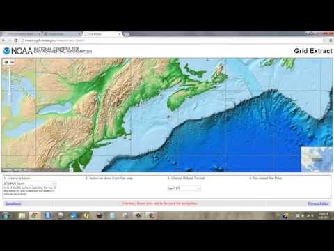 [d-1] Download Bathymetry and Project