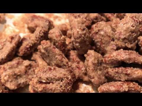 Kamado Joe Toasted Cinnamon Sugar Pecans