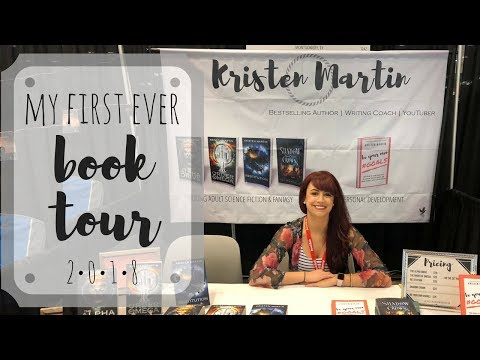 Indie Author BOOK TOUR 2018 | My First One Ever!