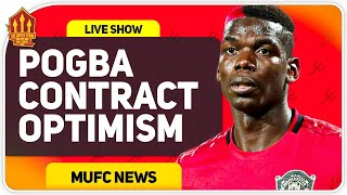 Pogba New Deal in United Hands! Man Utd News Now