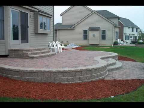 Backyard Raised Garden Patio Design Ideas