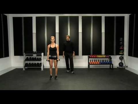 Bikini Body Countdown: Month # 1 - Curtsey Lunge Dumbell Curl