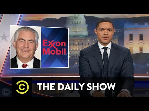 Profiles in Tremendousness - Secretary of State Nominee Rex Tillerson: The Daily Show