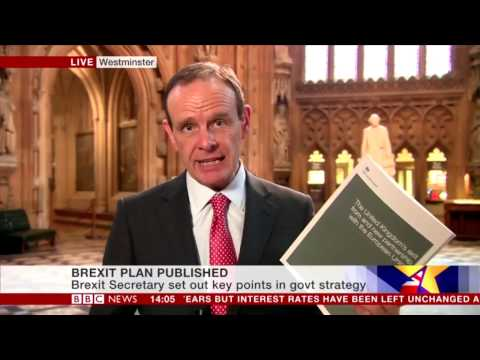 Norman Smith - Government's Brexit plan revealed in White Paper