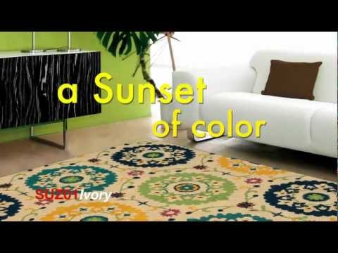 The Suzani Area Rug Collection by Nourison