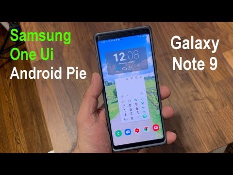Samsung Galaxy Note 9 with One UI and Android 9.0 Pie - Awesome?