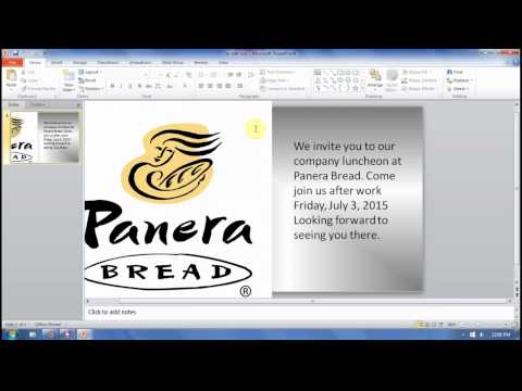 Use Microsoft Powerpoint to Make Image transparent