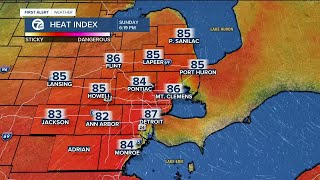 Heat and storms for Memorial Day