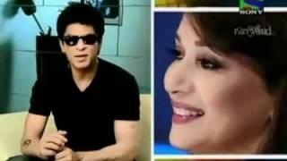 Shahrukh Khan talks about Madhuri Dixit on Jhalak Dikhla Ja