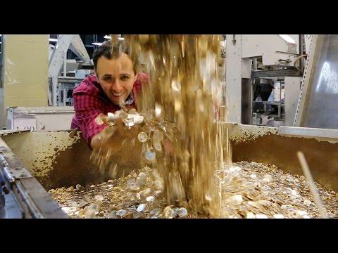 Saiba como é fabricado o seu dinheiro - Boravê na Casa da Moeda