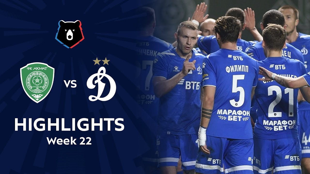 Highlights Akhmat vs Dynamo (2-3) | RPL 2019/20