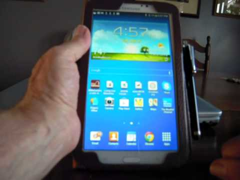 Video 3 - Search/install/uninstall apps - Samsung Galaxy Tab 3 tablet - for JRF