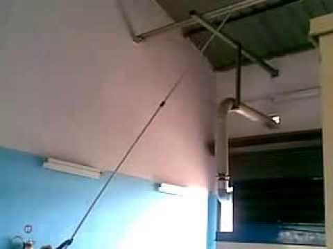 FACTORY / WAREHOUSE HIGH ROOF-SHED CEILING COBWEBS CLEANING SERVICES BY PNEUMATIC SYSTEM