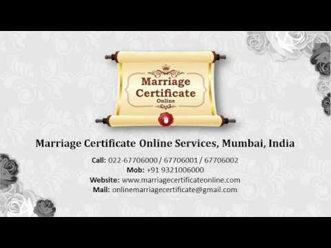 Online Booking Office in Thane for Marriage Certificate