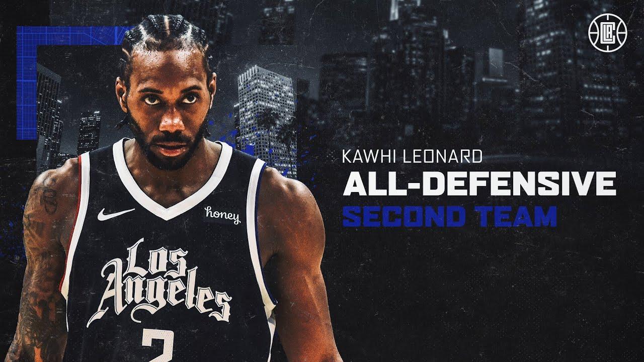 𝟕𝐱 𝐀𝐥𝐥-𝐃𝐞𝐟𝐞𝐧𝐬𝐢𝐯𝐞 𝐓𝐞𝐚𝐦 Kawhi Leonard's Best Stops From the Season   LA Clippers