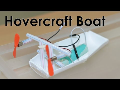 How to Make an Electric Boat - DIY Toy