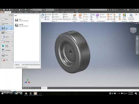 Model Car Parts   Inventor 2017