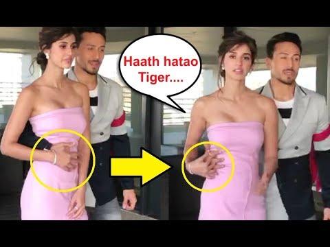 Xxx Mp4 Disha Patani UNCOMFORTABLE Moment With Tiger Shroff At Baaghi 2 Promotion 3gp Sex
