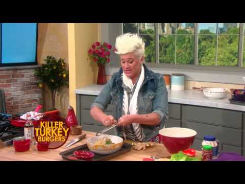 Anne Burrell's Killer Turkey Burgers