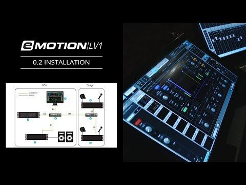 eMotion LV1 Tutorial 0.2: Introduction – Installation