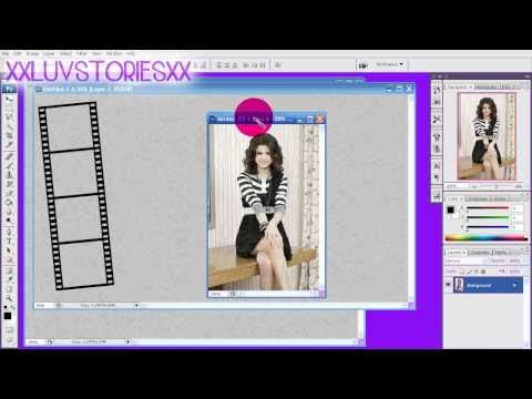 How To Make A Twitter Background In Photoshop | #4