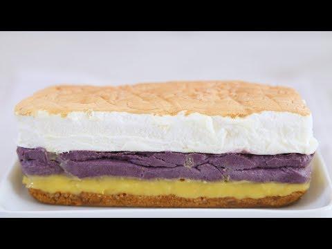Ube Brazo de Mercedes Recipe | Yummy Ph