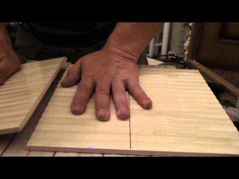 Как резать керамическую плитку стеклорезом. Плитка с криволинейной поверхностью.