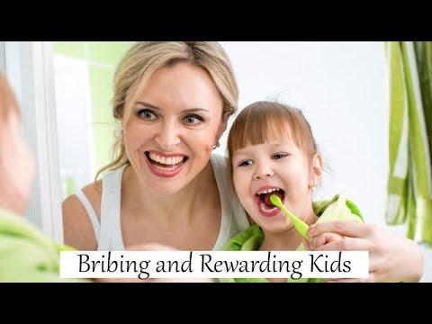 Bribing Kids Vs Rewarding Kids for Good Behavior!