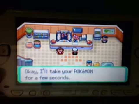 Pokemon Emerald Psp