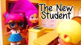 Toys for Kids L.O.L. Surprise Dolls New Wave - A New Student at School - Stories With Dolls and Toys