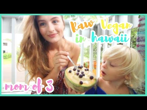 WHAT I EAT: REALISTIC RAW VEGAN TEEN MOM OF 3!