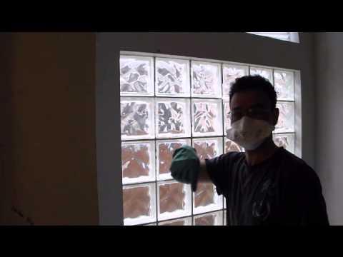 Glass Block Window Demolition