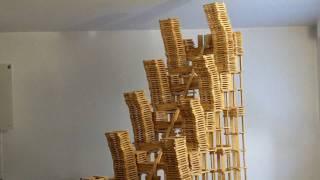 HTK#16 - Kapla destruction : escalier