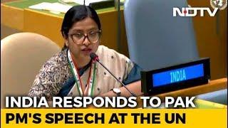 """Imran Khan's Nuke Remark """"Brinkmanship Not Statesmanship"""": India At UN"""