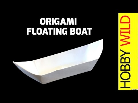 How To Make A Paper Boat That Floats (Origami)