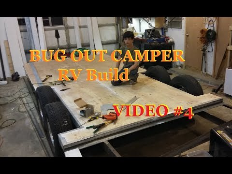 Bug Out Camper RV hybrid build, looking good 🔧 ~ #4