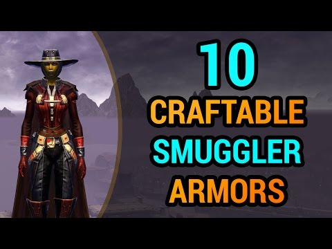 10 Street-Smart Smuggler Armors You Can Craft in SWTOR