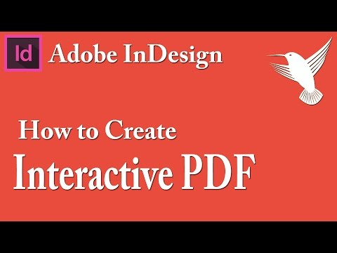 How To Create Interactive pdf with Adobe InDesign - Video Tutorial