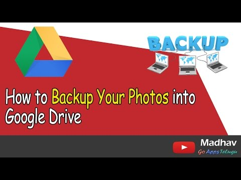 How to Backup Your Photos into Google Drive